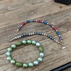 Earthbound Lot of four bracelets